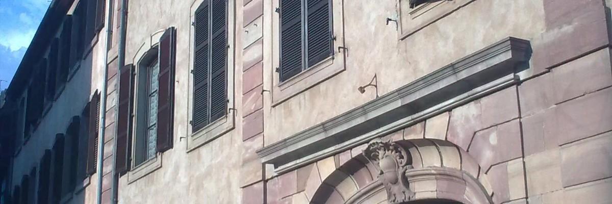 logement strasbourg residence Charles de Foucaud entree